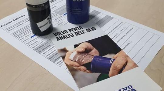 Analisi dell'olio Volvo Penta